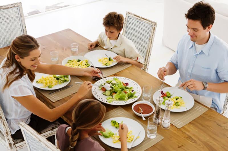 almocando juntos
