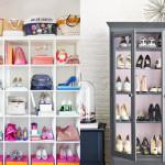 15 Soluções Criativas para Organizar Sapatos