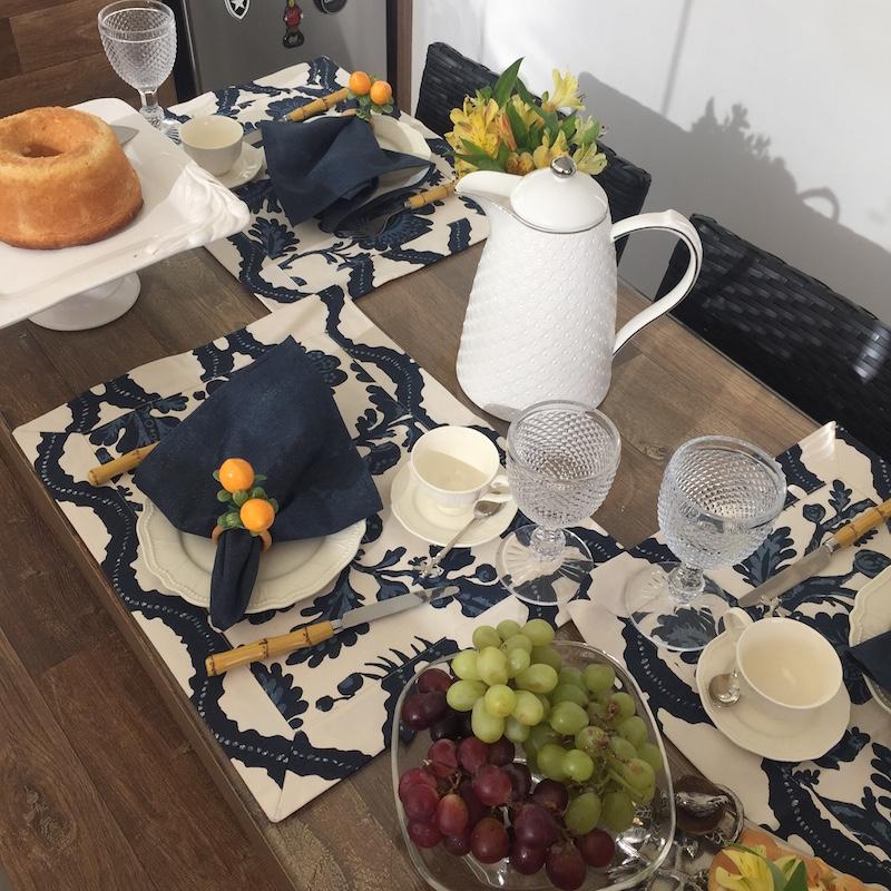 mesa de cafe da manha