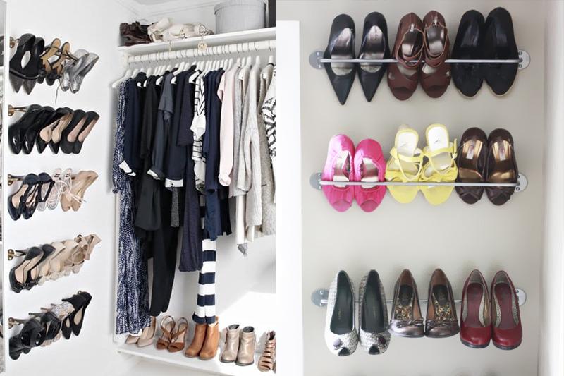 porta toalhas organizar sapatos