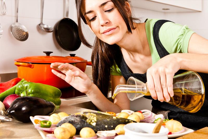 preparando a comida