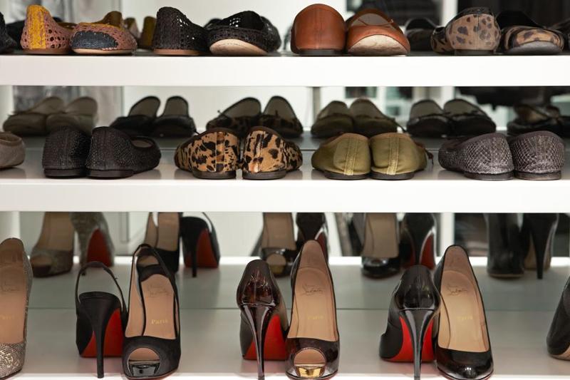 solucoes criativas para organizar sapatos
