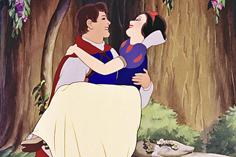 Branca de Neve e o Principe Encantado