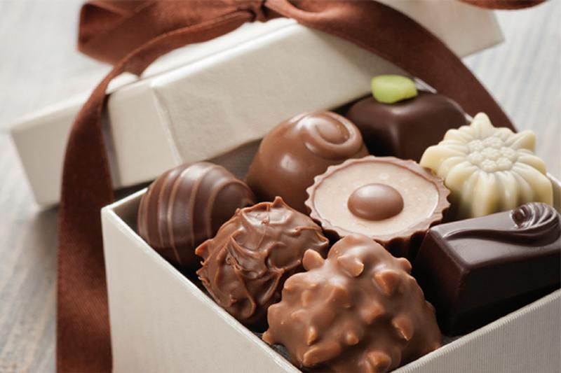 amigo oculto de chocolate