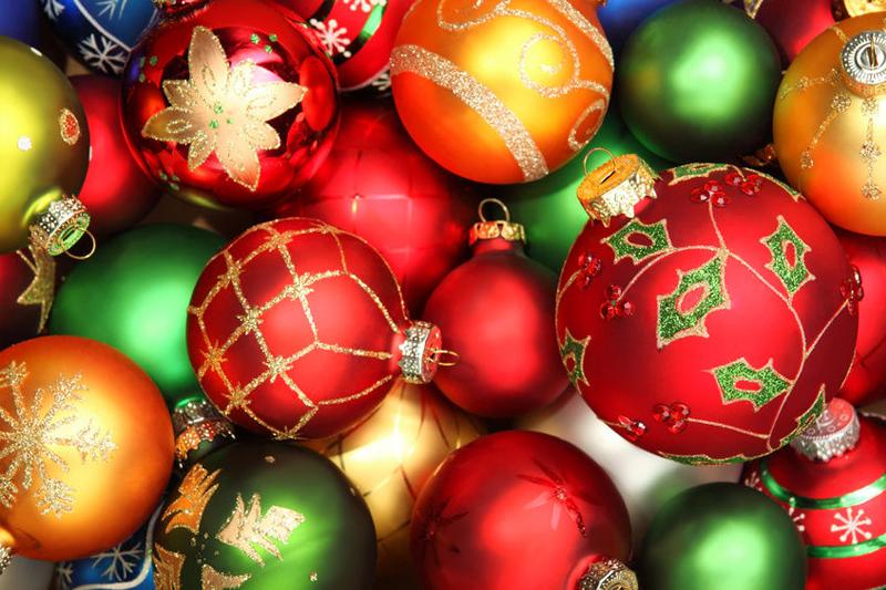 ornamentos de arvore de Natal