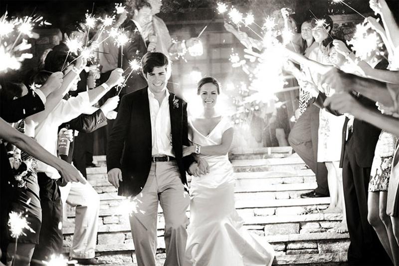sparkles em casamentos