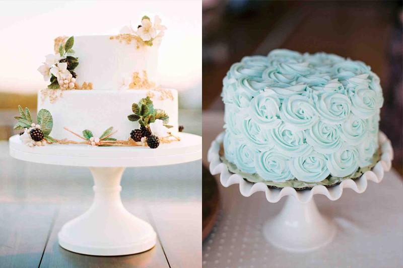 bolos de casamento decorados e simples