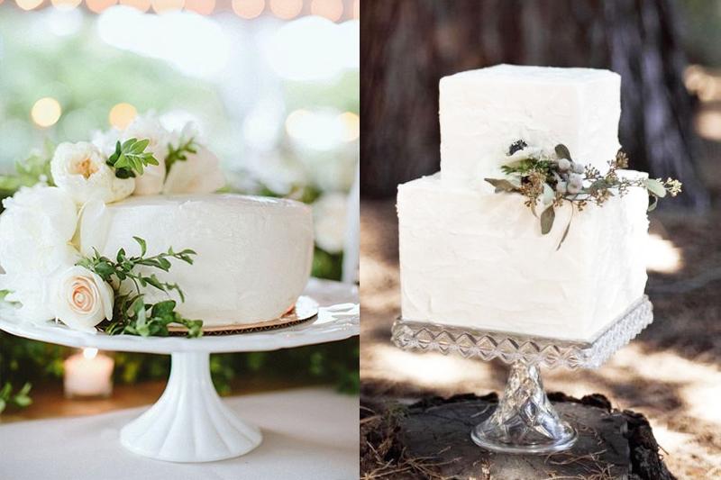 bolos de casamento pequenos