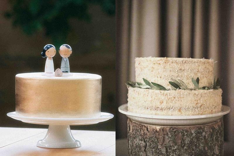 bolos de casamento simples e baratos