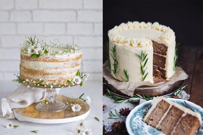 bolos simples e pequenos