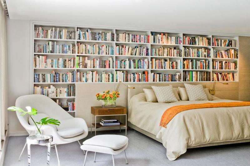 decoracao aconchegante livros