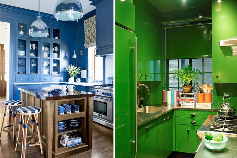 decoracao de cozinha colorida