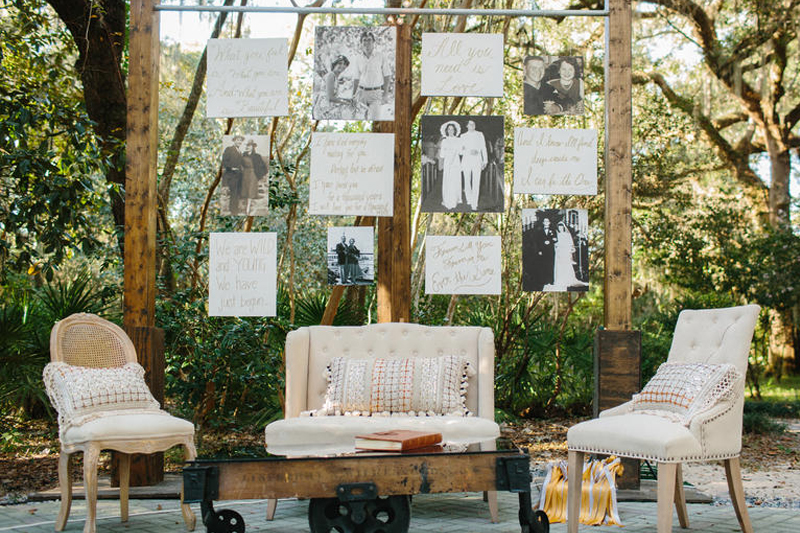 decoracao de festa de casamento simples fotos antigas