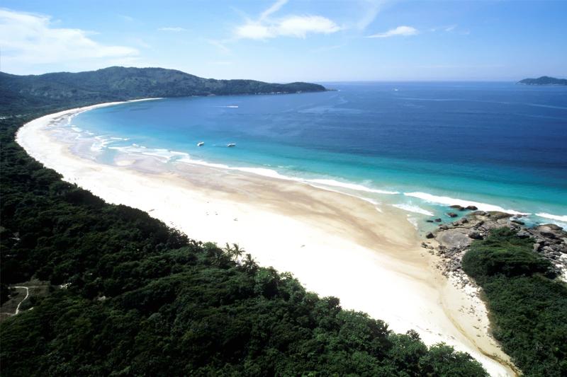 melhores praias do Brasil praia de lopes mendes