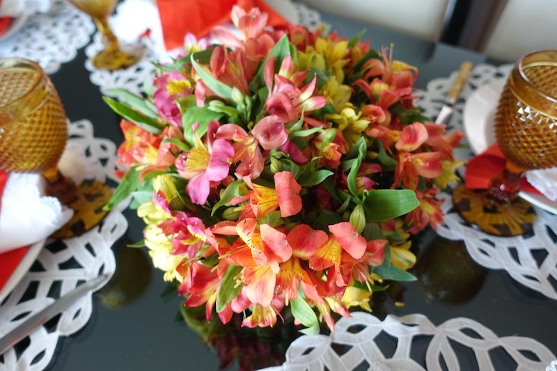 arranjo floral facil