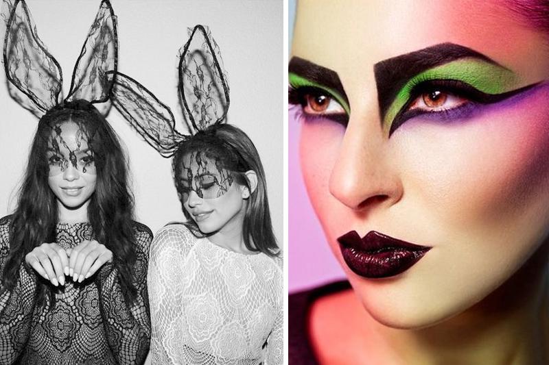 fantasias e maquiagem para o carnaval