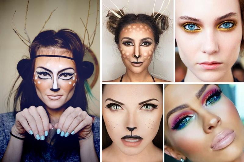 ideias de maquiagens para carnaval
