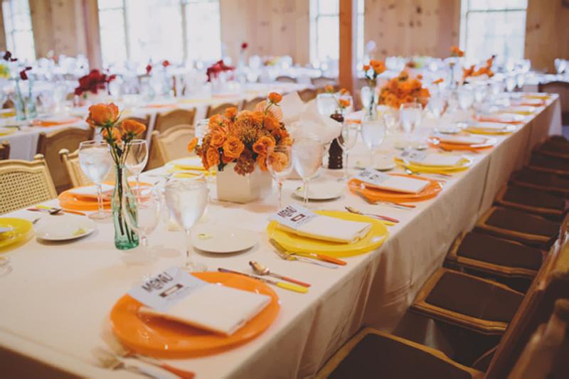 bodas de ouro decoracao alegre