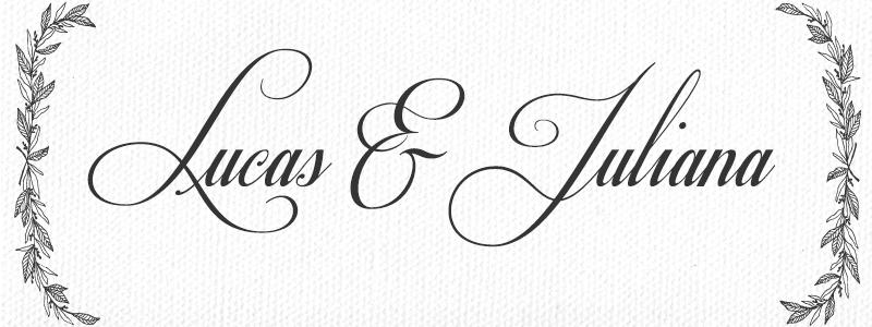 letras para convite de casamento respective slanted