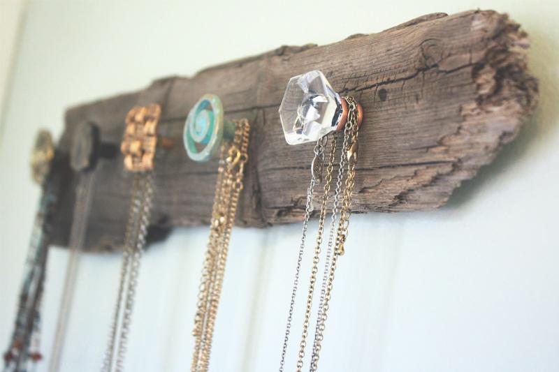 como organizar bijuteria com macanetas