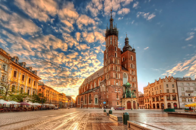 destinos internacionais baratos polonia