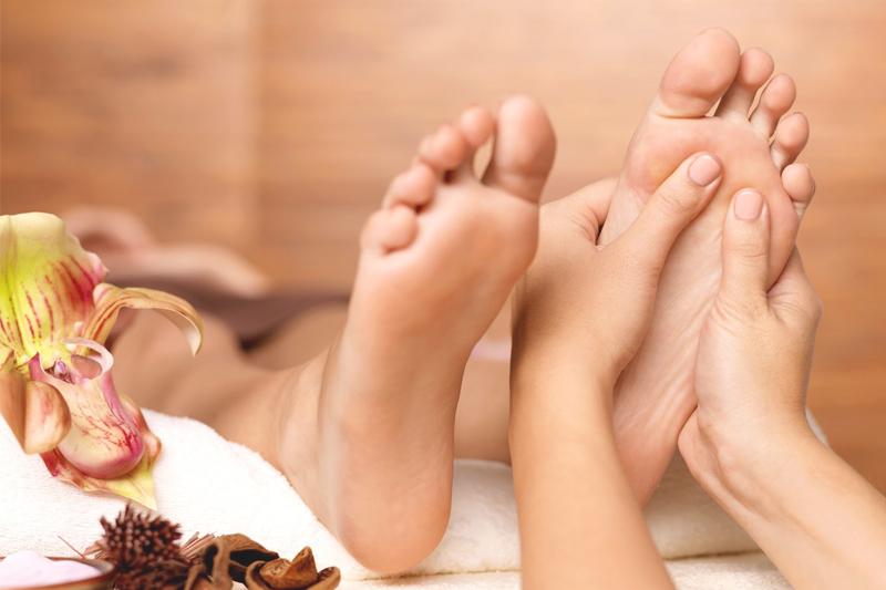 formas de queimar calorias fazendo massagem