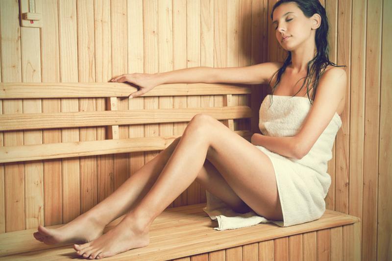 formas de queimar calorias sauna