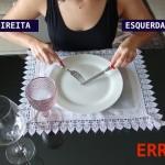 5 Erros de Etiqueta a mesa que VOCÊ comete!