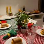 Espaço Leitora — Jantar Italiano da Evelin