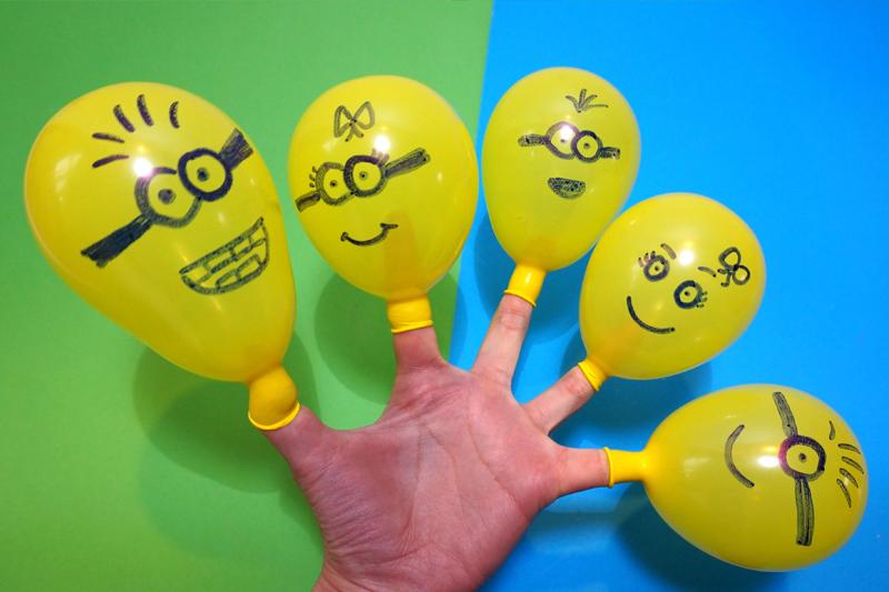 decoracao de festa infantil minions baloes personalizados