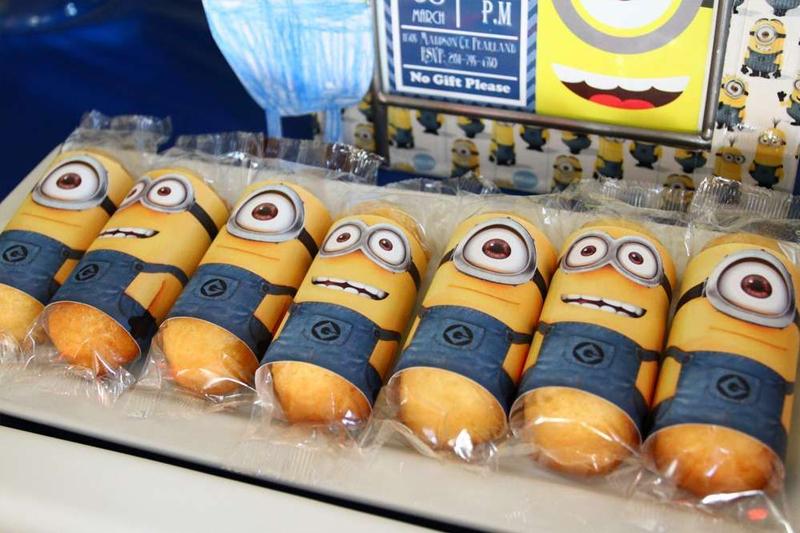 decoracao de festa infantil minions ideias comidas