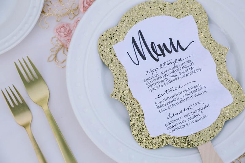 jantar de casamento simples_servir
