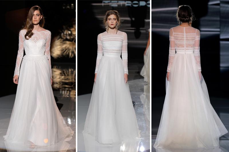 vestidos de noiva com manga comprida