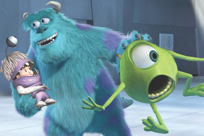 animacoes para assistir com as criancas monsters inc