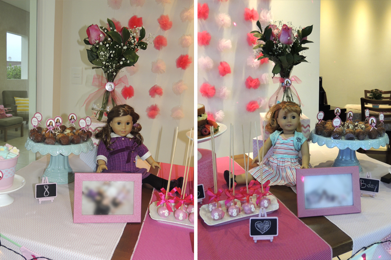 festa de aniversario infantil American Girl