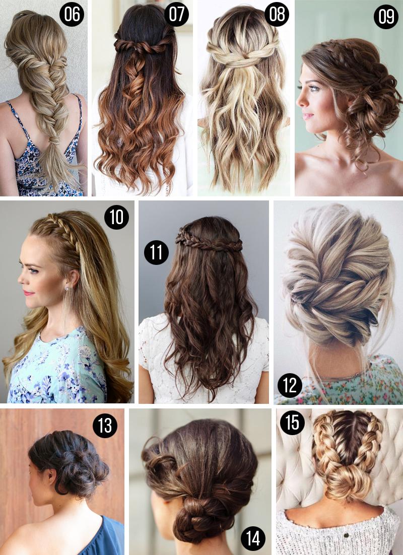 penteados para madrinhas casamento