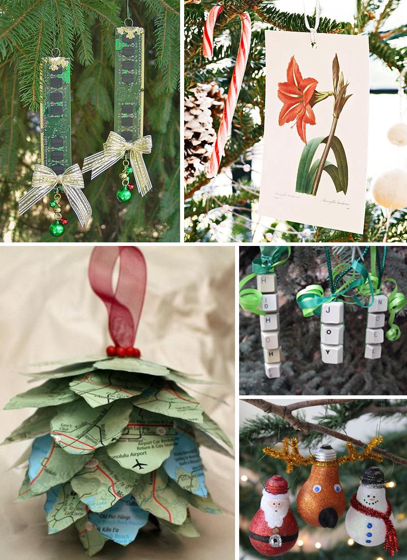 decoracao de natal simples ornamentos criativos