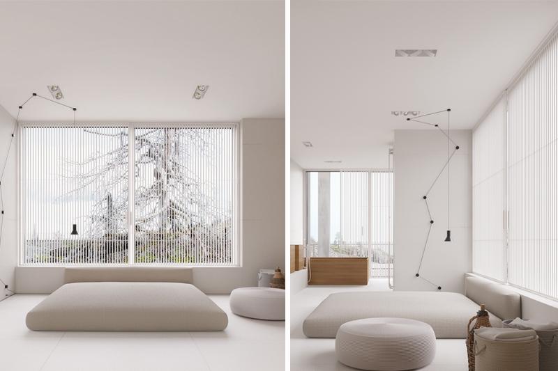 decoracao minimalista inspiracoes de quarto