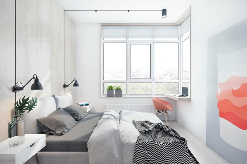 decoracao minimalista para quarto