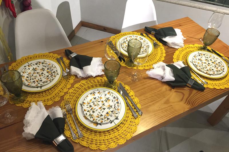 mesa posta primavera felizes para sempre jantar ou almoco