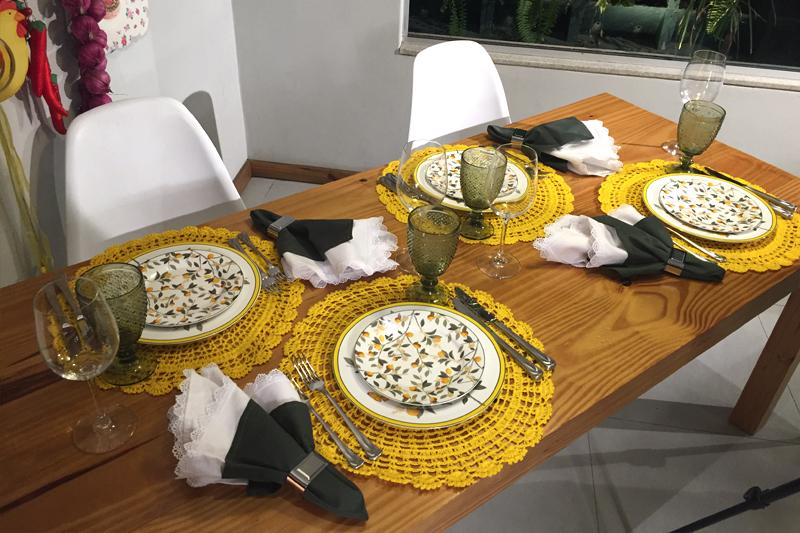 mesa posta primavera jantar ou almoco felizes para sempre