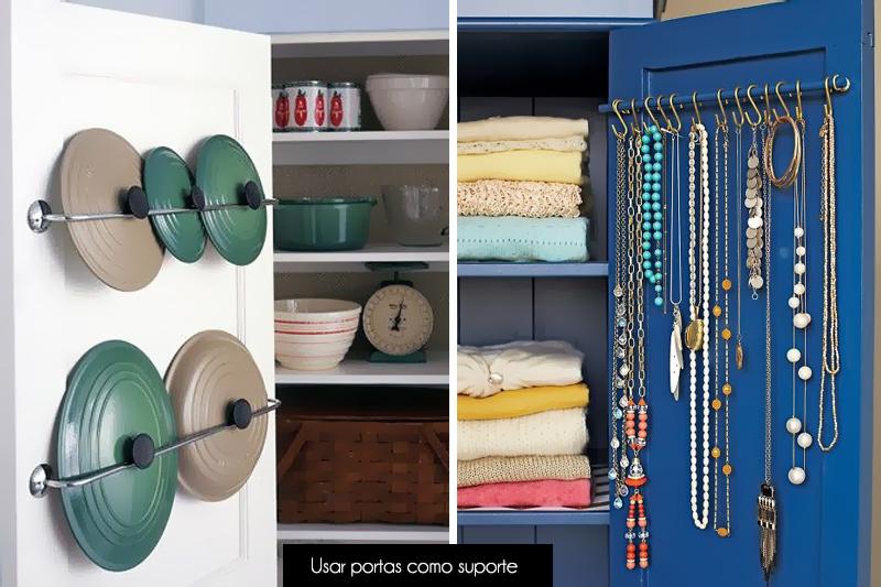 locais para organizar coisas em casa