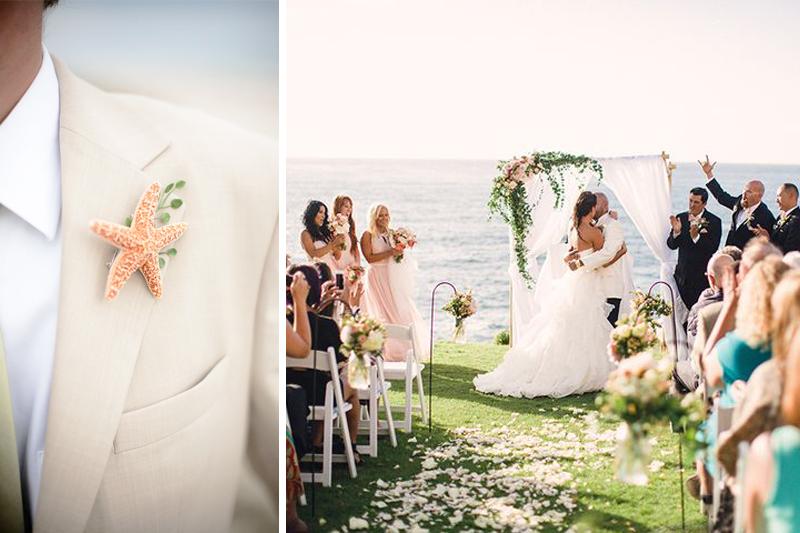 casamento na praia detalhes
