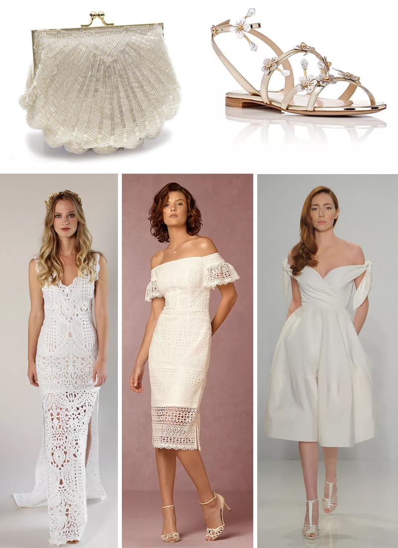 vestidos e acessorios noiva casamento na praia