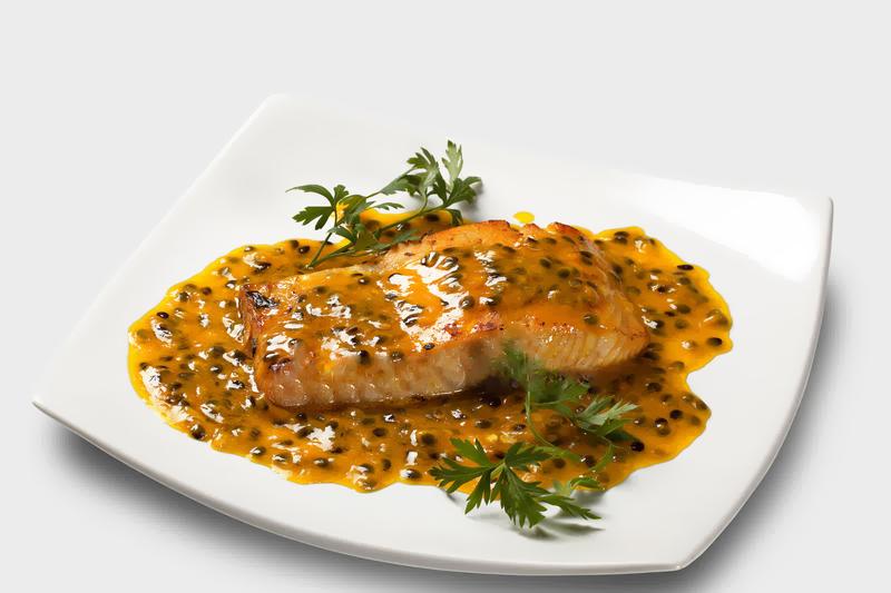 receita de salmao ao molho de maracuja