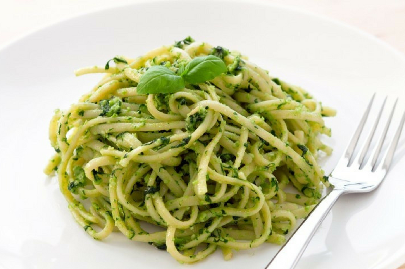 Linguine ao pesto