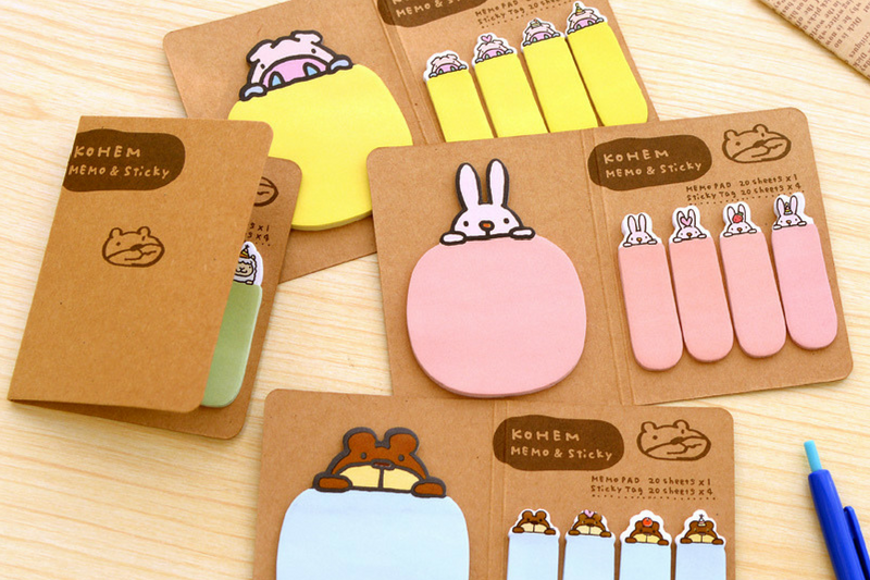 Materiais para decorar planner post its
