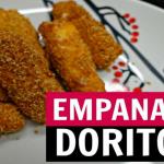 Receita: Petisco de Queijo e Frango Empanados com Doritos