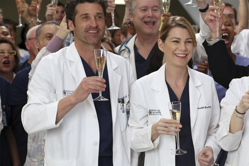 Series romanticas na Netflix Greys Anatomy