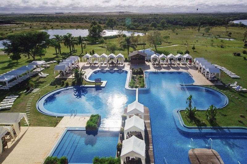 Resort de agua quente em Salto no Uruguai